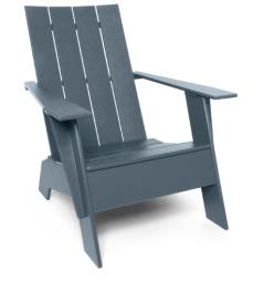 Grey Adirondack Chair