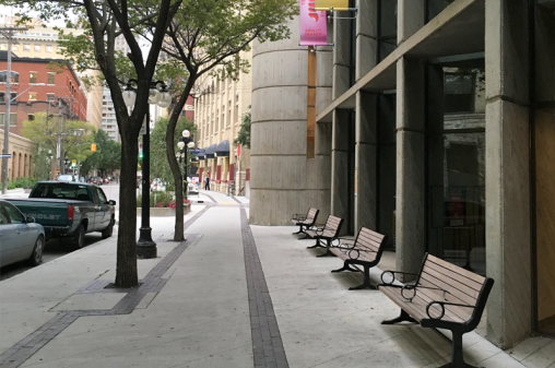 Exchange-BIA-Winnipeg-Streetscape-Benches