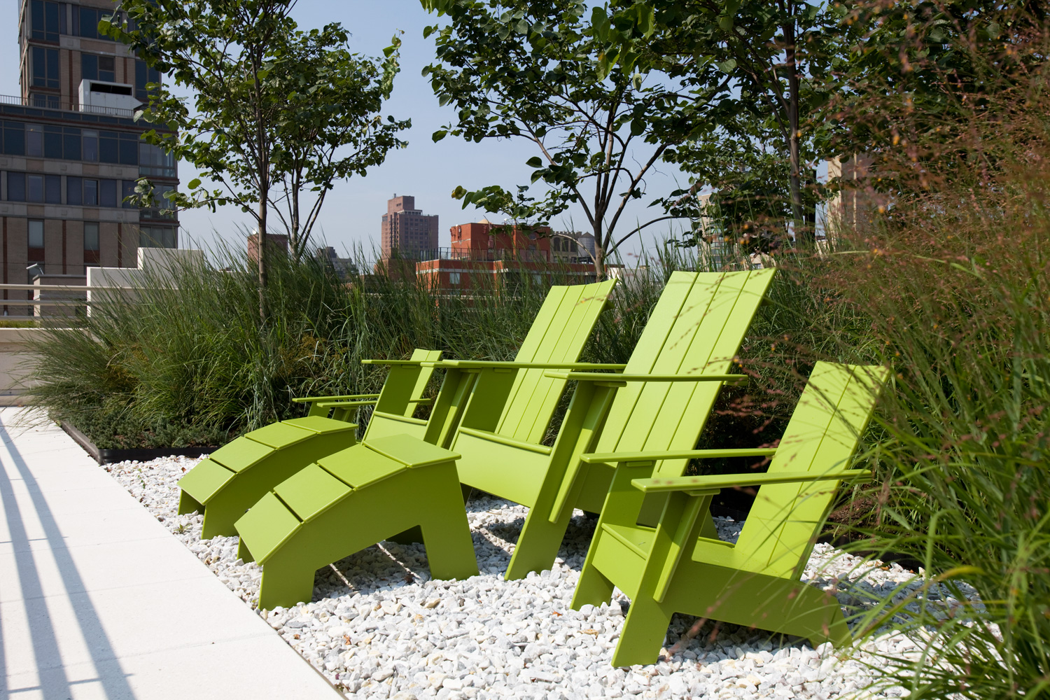 modern adirondack chairs from loll designs park street