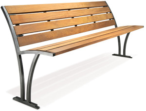 Freesia Bench from Victor Stanley Site Furnishings