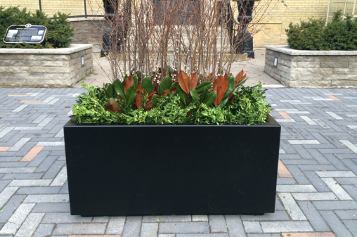 Bloor-Yorkville Toronto BIA Streetscape Planters