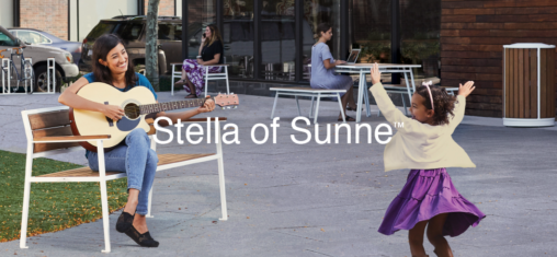 Stella of Sunne™ Street Furniture from Victor Stanley