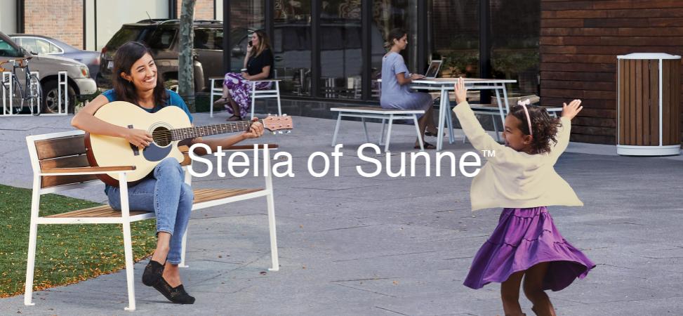 Stella of Sunne™ Street Furniture from Victor Stanley